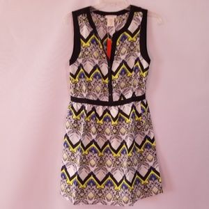 NWT Esley paisley print sleeveless dress